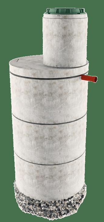 Септик из бетонных колец в Одинцовском районе